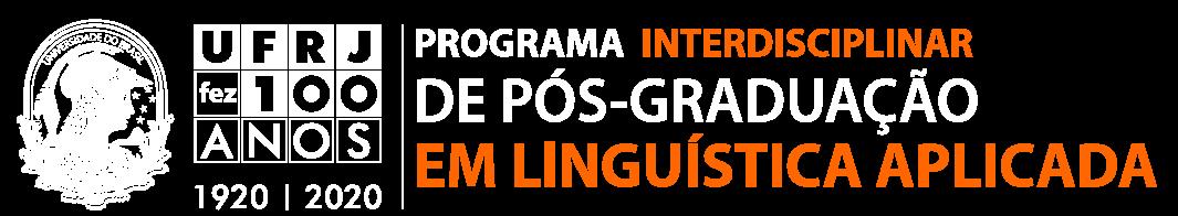 Programa Interdisciplinar de Pós-Graduação em Linguística Aplicada